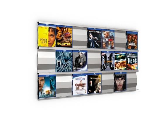 dvd cd regal leiter aluminium die neuesten innenarchitekturideen. Black Bedroom Furniture Sets. Home Design Ideas