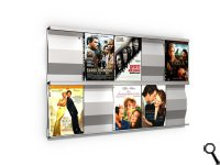 SIGMARAIL® SR5 DVD-Rack - Set of 2