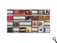 SIGMARAIL® SR7 CD-Rack - Set of 4
