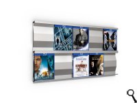 SIGMARAIL® SR5 Blu-ray-Regal - 2er Set